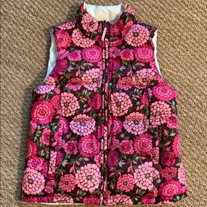 Lilly Pulitzer reversible vest. Size S
